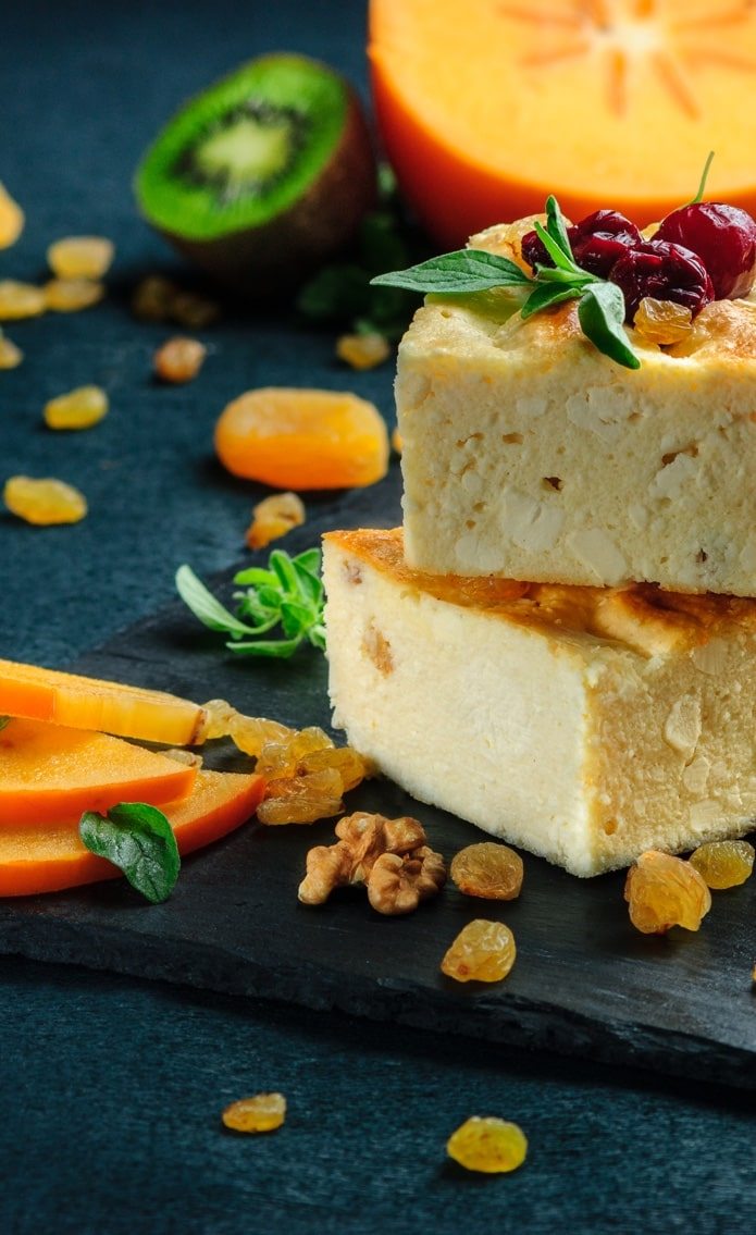 Baked cheese pidding GFS Global Trade